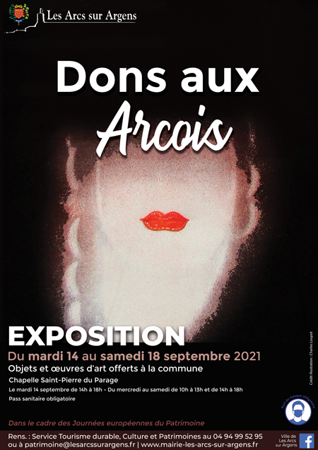 expo dons arcois 2021
