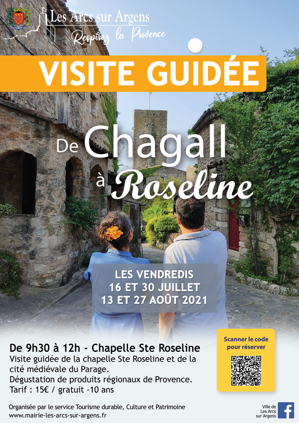 visite guidee chagall roseline 2021
